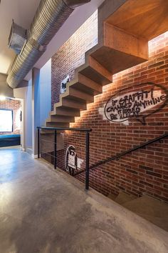 Who says industrial staircases are sterile and boring - Decoist