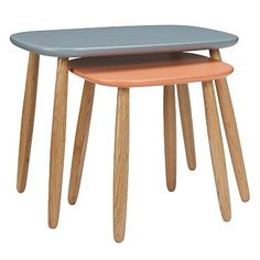 Nest of tables often aren't considered to be the most sophisticated furniture, but the Bo Nest of Tables from John Lewis could go some way to