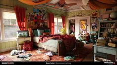 Boon Cotter: Light Magic with Uncharted 4 Interior Exterior, Interior Design, A Thief's End, Requiem For A Dream, Cthulhu, My Room, Home Art, Room Inspiration, Concept Art