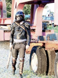 Wasteland Warrior Tire Armor by Roll4Damage on Etsy
