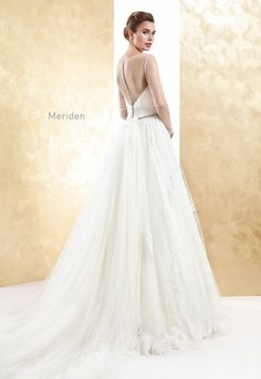 MERIDEN wedding dress Cabotine