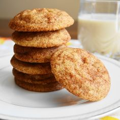 Ginger white chocolate snickerdoodles have a fantastic mix of spiced sweetness. They are buttery, melt in your mouth and easy to make!