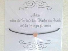 S Herz Mutter Mini-Anhänger roségold Kette&Armband