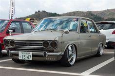 510型 ニッサン ブルーバード / Datsun 510 | Lowered, Slammed, JDM, Stance, Hellaflush