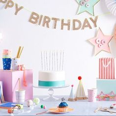 Happy Birthday To You 🎈 #mixandmatch to create the perfect #party for all ages Shop @merimeriparty full range www.theoriginalpartybagcompany.co.uk - #stylish #fun #partyware #merimeriparty #OPBCo 🌟