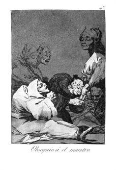 Obsequio a el maestro - Francisco de Goya