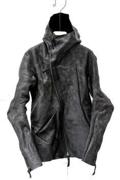 DISTORTION Leather Hooded Jacket. DIS-LJ-01-LV-HO « GULLAM   グラム セレクトショップ…