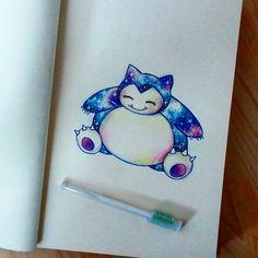 Snorlax  Aww I like Snorlax ! ❤ He is my favourite pokemon. For more my drawings follow me on instagram: @Kocatwins @pokemonsdrawings or on wattpad in book: kreslení - moje výkresy