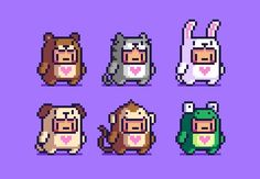 ʜᴀɴs on - - Game Design, Game Character Design, Pixel Life, 8 Bits, Pixel Design, Pixel Art Games, Cute Characters, Stitch Games, Drawing Lessons