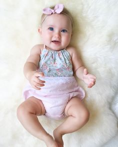 d25afd051bd3 65 Best Baby Girl Rompers images