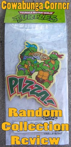 This is one of the TMNT items in my collection that I decided to share on Cowabunga Corner.  AirFresh TMNT for cars.  Check out my review here: http://www.cowabungacorner.com/content/random-collection-piece-15