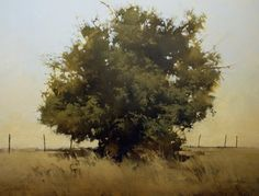 "2013, Property Line by Joseph Alleman Oil ~ 26"" x 34"""