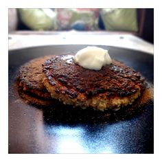 Oat-and-egg-pancake