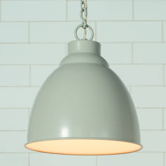 The Wharf #Pendant is our new #retro look #light with an industrial feel. It is available in Clay, Matt Black, Old Gold and Plain Ivory.