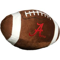 NCAA Alabama Crimson Tide Football Pillow