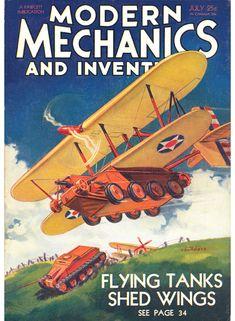Jul 1932   Modern Mechanics Cover art