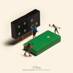 (1) Miniature Calendar