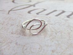 Wire Wrapped Rings | Holding Hands Friendship Ring Wire Wrapped Ring. | Jewelry