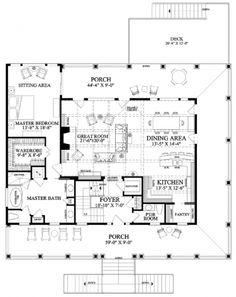 Floor Plan Tradewinds...LOVE wrap around porches!