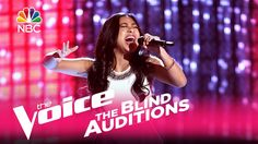 "The Voice 2017 Blind Audition - Anatalia Villaranda: ""Runaway Baby"""