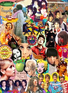 The 60s--Including the Beatles, the Who, the Doors, Janis Joplin, Hendrix, Bob Dylan, and Twiggy