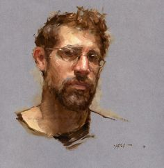 travis schlaht artist - Self-portrait