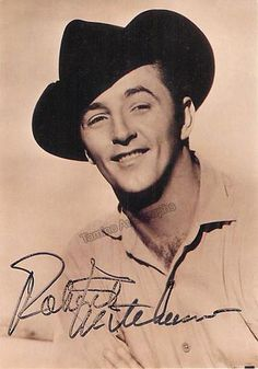 Mitchum, Robert - Signed Photo - Tamino Autographs