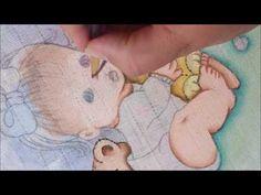 Pintando Fraldinha para menina Parte 2 - YouTube