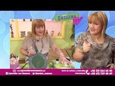 Platos Acrílicos Decorativos con Reciclaje - Aprender con Rossana TV #8 ...
