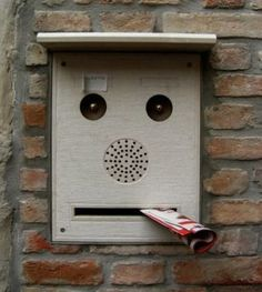 I always see faces in random things.