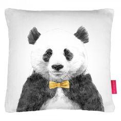 Coussin Ohh deer, Coussin Germain // Shopping #panda sur ptitebanane.com #deco #enfant  #kids #kidsroom #kidsberoom