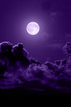 Purple Sky Moon, Can You See Me With My Face Pointed At You? Nite, Nite.