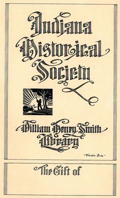 Franklin Booth was the artist for this bookplate-Judith Walker's Collection
