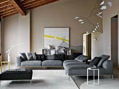 Le mobilier de design italien est il y a longtemps devenu un synonyme de qualité, style et luxe exclusive! Il en va de même pour le canapé italien de design