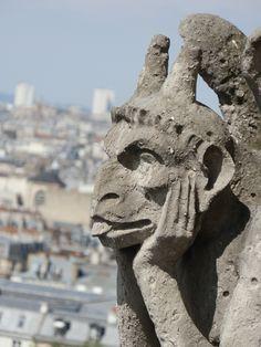 Notre Dame, Paris: Gargoyle