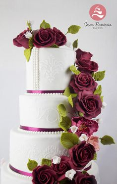The Wedding - Cake by Cesar Renteria Cakes