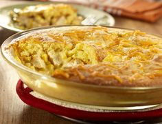 Check out this Cornbread Chicken Pot Pie. It'll remind you of good, old-fashioned home cooking, but it's also super easy to make!