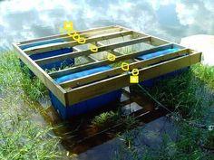 Build a floating dock