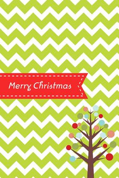 Christmas Printable - Several colors to choose from