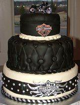 Good I Love This Cake Idea For Biker Wedding!