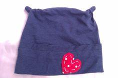 Babymütze Herz