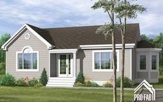 Éclatante Constructeur maison, maison usinée, maison préfabriquée | Pro-Fab