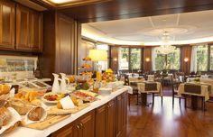 International Breakfast in Congress Center Hotel Federale Lugano (Switzerland)