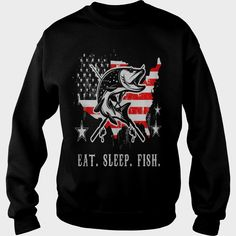 EAT SLEEP #FISH AMERICAN FLAG #FISHING, Order HERE ==> https://www.sunfrog.com/Funny/131222602-875828487.html?58094, Please tag & share with your friends who would love it, #jeepsafari #renegadelife #xmasgifts  fishing girls, fishing women, fishing recipes  #family #legging #shirts #tshirts #ideas #popular #everything #videos #shop