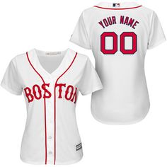 Boston Red Sox Women's Personalized Cool Base® Jersey by Majestic Athletic - MLB.com Shop