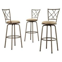 $129.09 + $10 shipping, Target.com, Landen Quarter Cross-Back Barstools - Set of 3