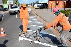 Pela primeira vez Boa Vista é sinalizada de acordo com o Código de Trânsito Brasileiro #pmbv #prefeituraboavista #boavista #roraima #obras
