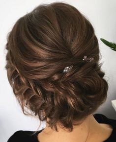 Wedding hair inspiration ideas is part of Unique wedding hairstyles - Wedding hair inspiration ideas wedding hairstyles for medium length hair Elegant Wedding Hair, Wedding Hair And Makeup, Rustic Wedding, Hair Makeup, Elegant Updo, Down Hairstyles, Pretty Hairstyles, Bride Hairstyles, Hairstyle Ideas