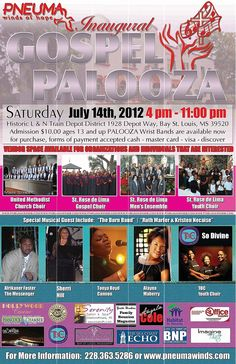 A 'don't miss' music event in Bay Saint Louis!