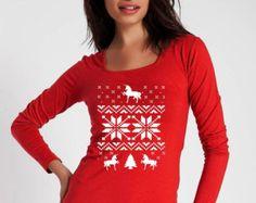 ugly Christmas sweater,unicorn christmas shirt,christmas shirt,Christmas gift,Christmas gift woman,ugly christmas sweater,SIZE:S/M/L